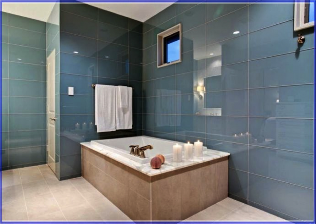 24 brilliant extra large bathroom tiles for Large bathroom pictures